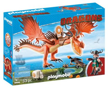 PLAYMOBIL DRAGONS Ο ΜΥΞΑΡΧΟΣ ΜΕ ΤΟΝ ΤΣΙΓΚΕΛΟΔΟΝΤΗ (9459)