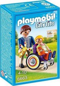 PLAYMOBIL CITY LIFE ΠΑΙΔΙ ΣΕ ΝΟΣΟΚΟΜΕΙΑΚΟ ΚΑΡΟΤΣΑΚΙ (6663)