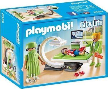 PLAYMOBIL CITY LIFE ΑΚΤΙΝΟΛΟΓΙΚΟ ΤΜΗΜΑ (6659)