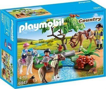 Playmobil Country – Παιδάκια Με Πόνυ & Εκπαιδευτής Με Άλογο 6947