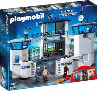 Playmobil City Action – Αρχηγείο Αστυνομίας & Φυλακή Ασφαλείας 6919