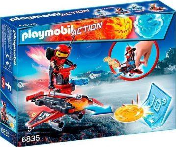 Playmobil Action Firebot Με Εκτοξευτή Δίσκων 6835