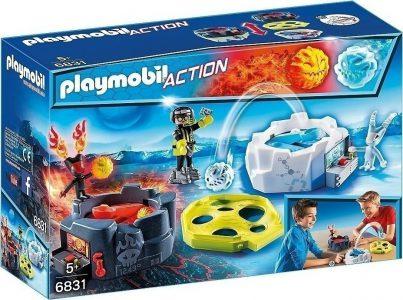 Playmobil Action Παιχνίδι με εκτοξευτήρες φωτιάς & πάγου (6831)