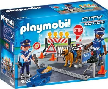 PLAYMOBIL CITY ACTION ΟΔΟΦΡΑΓΜΑ ΑΣΤΥΝΟΜΙΑΣ (6924)