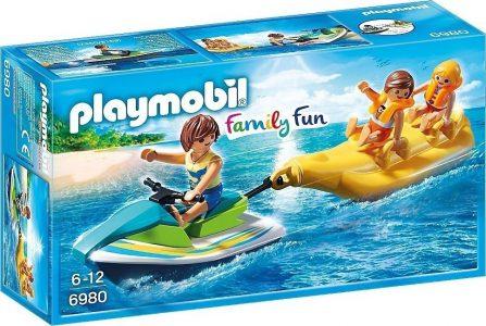 PLAYMOBIL FAMILY FUN JET SKI ΜΕ ΜΠΑΝΑΝΑ (6980)