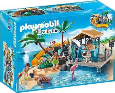 PLAYMOBIL FAMILY FUN ΕΞΩΤΙΚΟ ΝΗΣΙ ΜΕ BEACH BAR (6979)