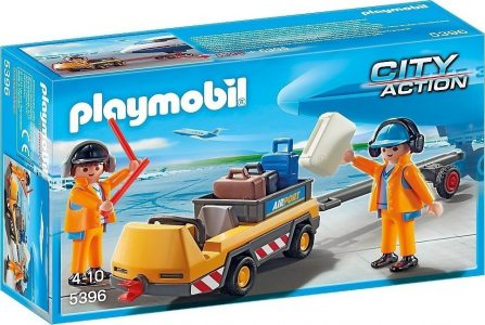 PLAYMOBIL CITY ACTION ΟΧΗΜΑ ΡΥΜΟΥΛΚΗΣΗΣ ΑΕΡΟΣΚΑΦΩΝ (5396)