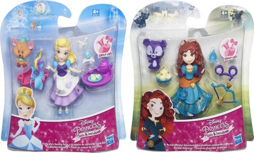 Hasbro Disney Princess Small Doll And Friend – 2 Σχέδια