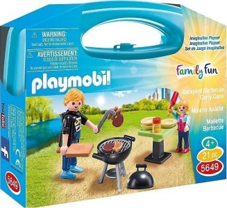 Playmobil Family Fun Βαλιτσάκι Barbeque (5649)