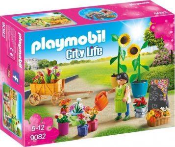 PLAYMOBIL CITY LIFE ΑΝΘΟΠΩΛΗΣ ΜΕ ΓΛΑΣΤΡΕΣ ΚΑΙ ΛΟΥΛΟΥΔΙΑ (9082)