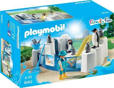 PLAYMOBIL FAMILY FUN ΠΙΣΙΝΑ ΜΕ ΠΙΓΚΟΥΪΝΟΥΣ (9062)