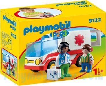 Playmobil 1.2.3 – Γιατρός Και Ασθενοφόρο 9122