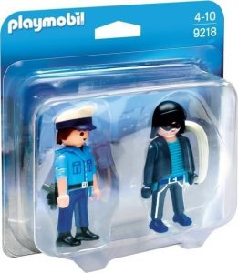 Playmobil City Action Duo Pack – Αστυνομικός Και Ληστής 9218