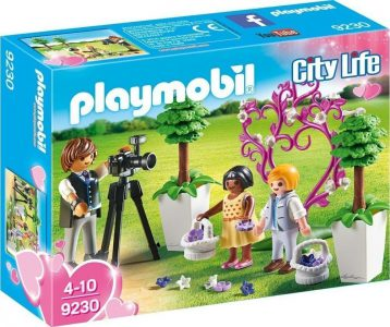 PLAYMOBIL CITY LIFE ΦΩΤΟΓΡΑΦΟΣ ΓΑΜΟΥ ΚΑΙ ΠΑΙΔΑΚΙΑ (9230)