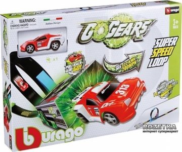 BURAGO – Αυτοκινητόδρομος GoGears Super Speed Loop BURAGO 18-30278