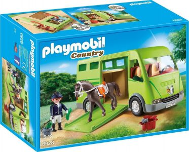 Playmobil Country – Μεγάλος Ιππικός Όμιλος Όχημα Μεταφοράς Αλόγων 6928