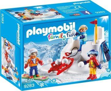 Playmobil Family Fun Χιονοπόλεμος (9283)