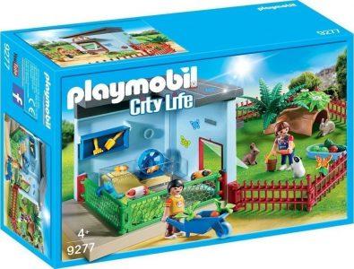 Playmobil City Life – Ξενώνας Για Κουνελάκια Και Χαμστεράκια 9277