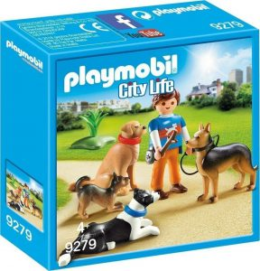 PLAYMOBIL CITY LIFE ΕΚΠΑΙΔΕΥΤΗΣ ΣΚΥΛΩΝ (9279)