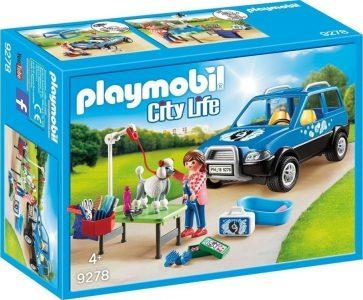 Playmobil City Life Κινητή Μονάδα Κτηνιατρικής Φροντίδας (9278)