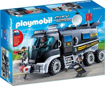 Playmobil City Action – Θωρακισμένο Όχημα Ειδικών Αποστολών 9360