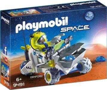 Playmobil Space Τρίκυκλο Διαστημικών Αποστολών (9491)