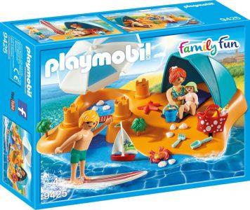 Playmobil Family Fun – Οικογενειακή Διασκέδαση Στην Παραλία (9425)