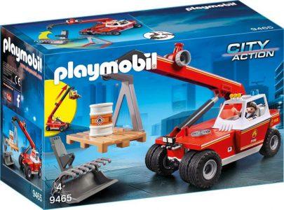 Playmobil City Action – Γερανός Πυροσβεστικής 9465