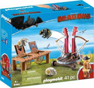 PLAYMOBIL DRAGONS Ο ΣΚΟΡΔΟΣ ΜΕ ΚΑΤΑΠΕΛΤΗ ΠΡΟΒΑΤΩΝ (9461)