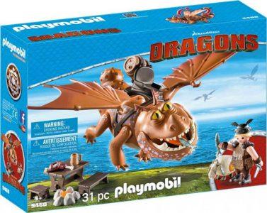 Playmobil Dragons – Ο Λέπιας Με Τον Χοντροκέφαλο 9460