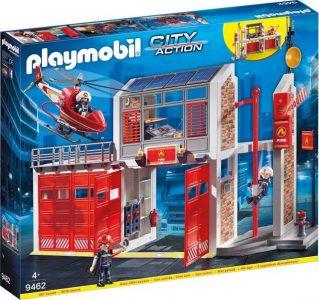 Playmobil City Action Μεγάλος Πυροσβεστικός Σταθμός (9462)