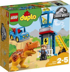 LEGO DUPLO JURASSIC WORLD T. REX TOWER (10880)