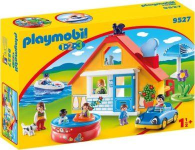 Playmobil Εξοχικό Σπίτι Με Βάρκα Και Αυτοκίνητο 9527