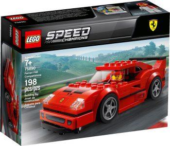Lego Speed Champions – Ferrari F40 Competizione 75890