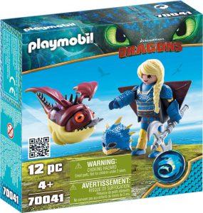 Playmobil Dragons – Αστριντ Με Φτεροστολή Και Ο Ξωτικομάτης 70041