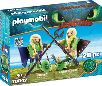 Playmobil Dragons Ο Πέτρας Κι Η Πέτρα Με Φτεροστολή (70042)