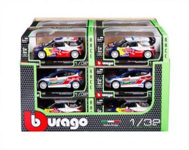 Bburago 1/32 Rally – 4 Σχέδια 18-40000