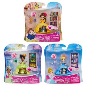 Hasbro Disney Princess Small Doll Transformation – 3 Σχέδια B8962
