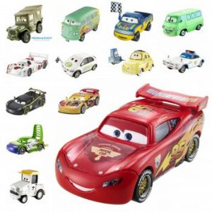 Mattel Cars Αυτοκίνητα -9 Σχέδια Mattel (W1938)