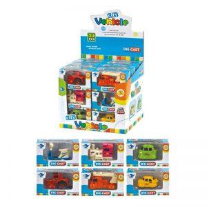 Παιχνίδι STOP & LOOK Οχήματα σε κουτί 10×4,5×5,5cm – 6 σχέδια 658293