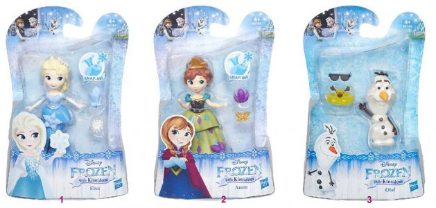 Hasbro Disney Frozen Small Doll-3 Σχέδια (C1096)