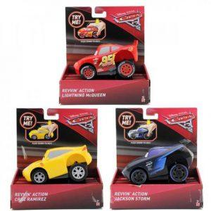Mattel Cars 3 Rev N'Racers Αγωνιστικά Οχήματα-2 Σχέδια (DVD31)