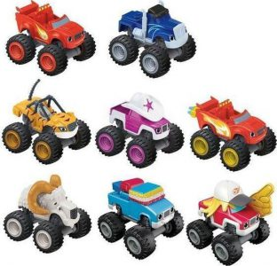 Mattel Blaze Οχήματα Die Cast-10 Σχέδια (CGF20)