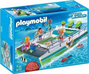 Playmobil Καταμαράν Με Διάφανο Πυθμένα & Υποβρύχιο Μοτέρ (9233)