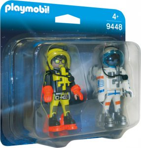PLAYMOBIL SPACE DUO PACK ΑΣΤΡΟΝΑΥΤΕΣ (9448)