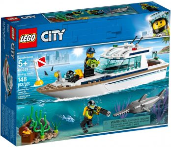 Lego City – Diving Yacht 60221