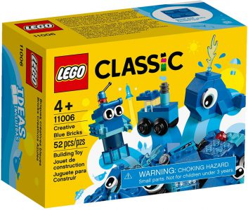 Lego Classic – Creative Blue Bricks 11006