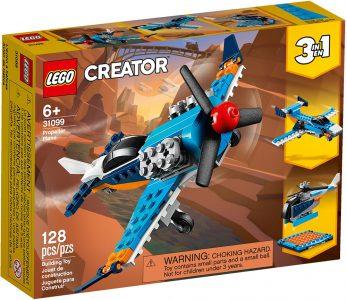 Lego Creator – Propeller Plane 31099