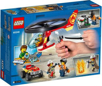 Lego City Helicopter Fire Response 60248