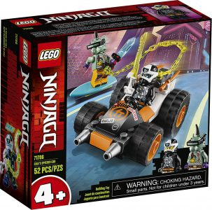 Lego Ninjago – Cole's Speeder Car 71706